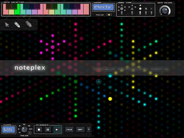 Make music with noteplex.